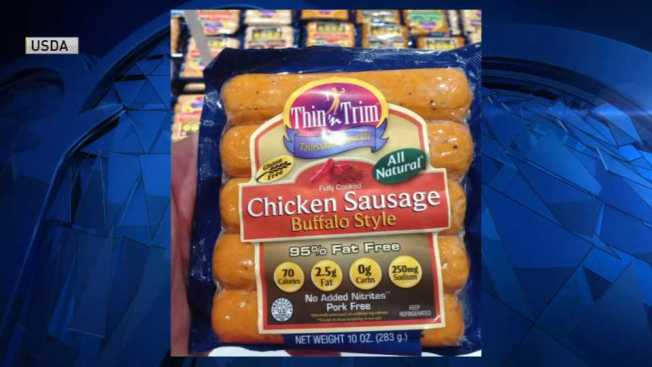 More Than 16 Tons of Chicken Sausage Made in Massachusetts Recalled