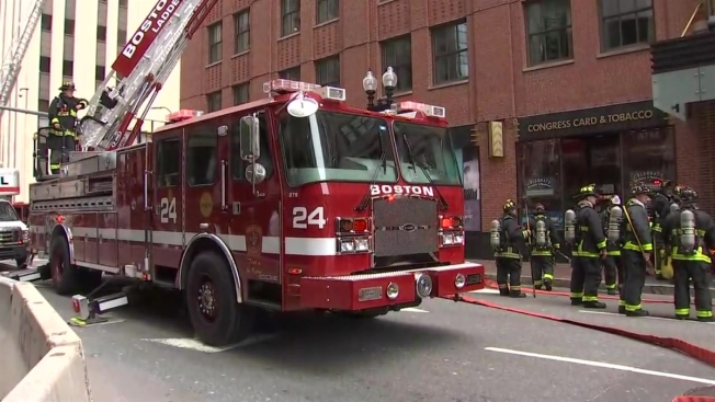 3 Firefighters Transported After Boston Building Evacuated Due To