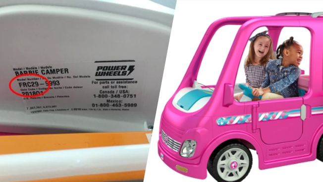 Fisher-Price Recalls 44K Barbie Dream Campers Because Wheels Could Continue Running