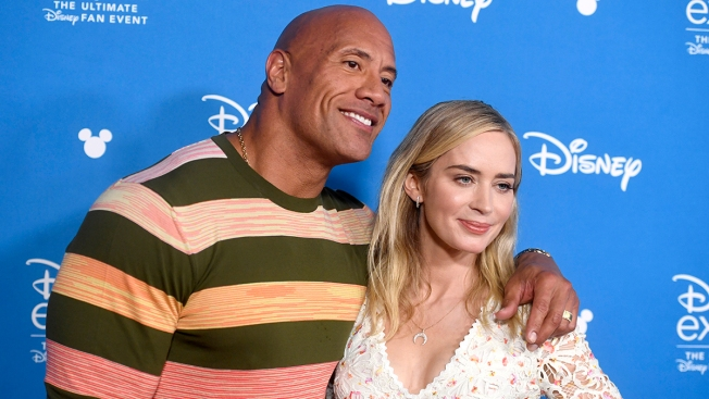 "Dwayne ""The Rock"" Johnson Takes Honeymoon to D23"