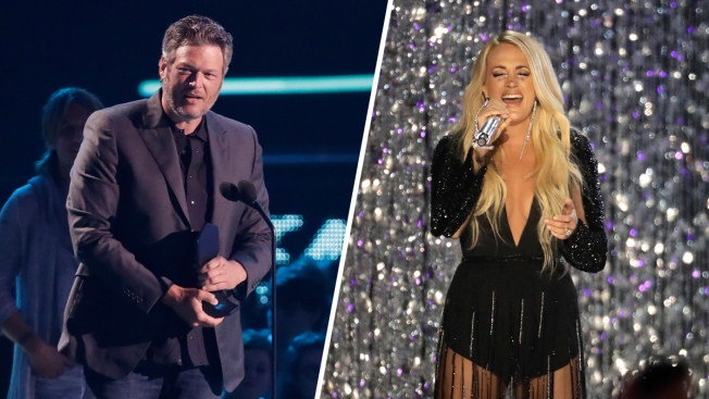 Underwood Makes History Again, Shelton Wins Top CMT Award