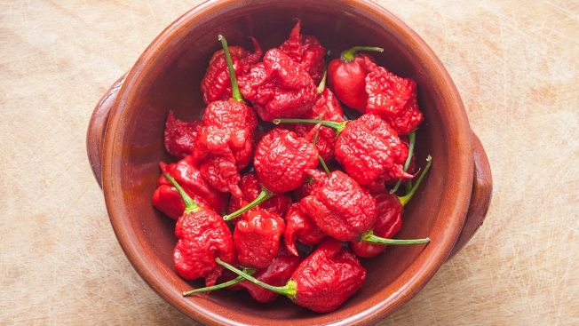 'Thunderclap' Headache Strikes Man Who Ate Carolina Reaper Pepper: Doctors