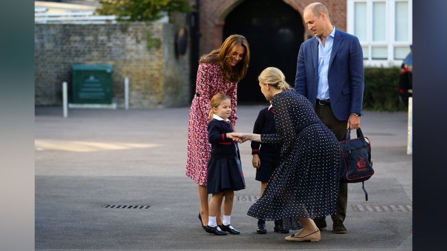 Princess Charlotte Marks First Day of School in London