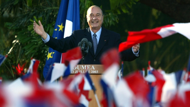 Ex-French President Chirac, Who Stood Up to US, Dies at 86