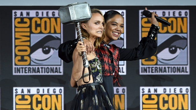 Natalie Portman Is Thor, Mahershala Ali Is Blade and More From Marvel's Phase 4