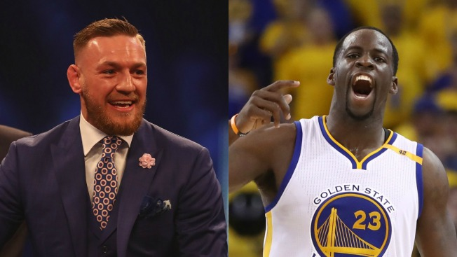 Draymond, McGregor Go at Each Other Over Warriors Jersey