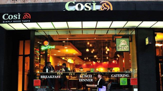 Cosi in Cambridge's Kendall Square Has Closed