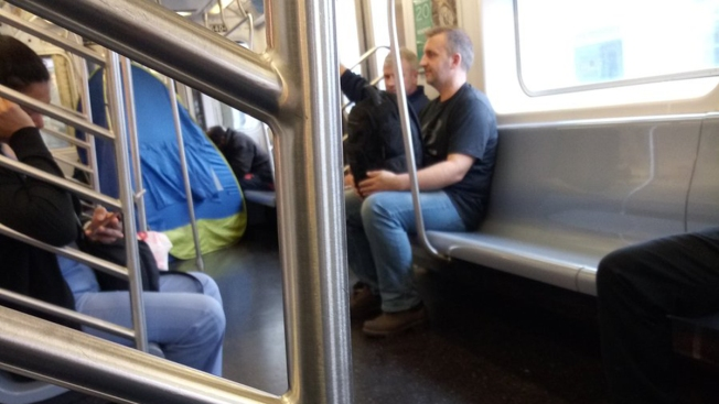 Couple Sets Up Tent on Moving Subway Train, Crawl Inside and Smoke: Witness
