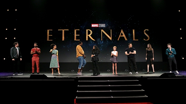 Bomb Scare Reported on Marvel's 'Eternals' Set