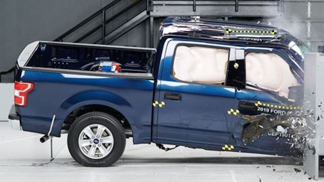 Some Popular Pickup Trucks Get Poor Marks in Latest Crash Tests