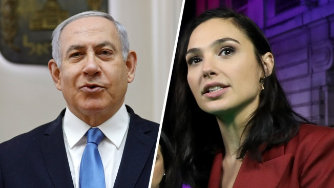 'Wonder Woman' Star Gadot Joins Criticism of Israel PM