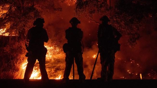 Firefighter Dies Battling Largest California Blaze in History