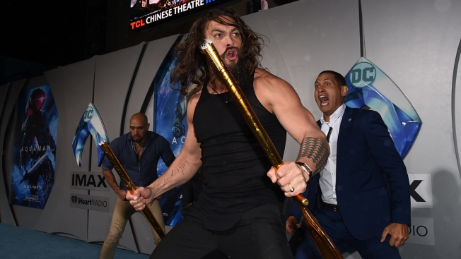 'Aquaman' Star Jason Momoa's Plane Forced to Make Emergency Landing