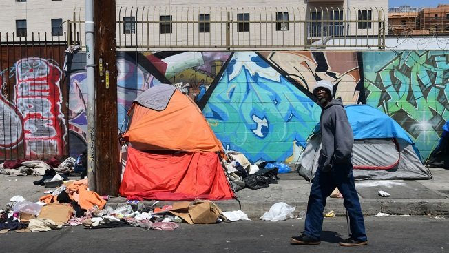 LA Mayor to President Trump: Let's Fix Homeless Crisis
