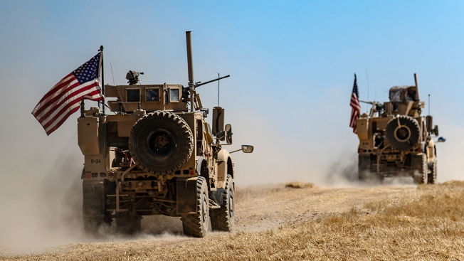 US Troops in Syria Going to Iraq, Not Home as Trump Claims