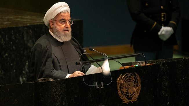 Iran's President Warns of a Region on the 'Edge of Collapse'