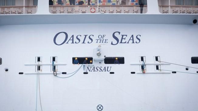 8 Injured After Crane Falls Onto Royal Caribbean Cruise Ship in Bahamas