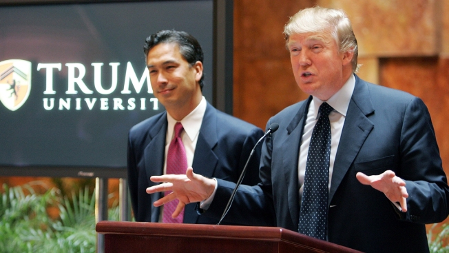 Woman Seeks Right to Trial in Trump University Case