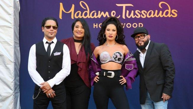 Selena's Wax Figure Shocks Her Family Members