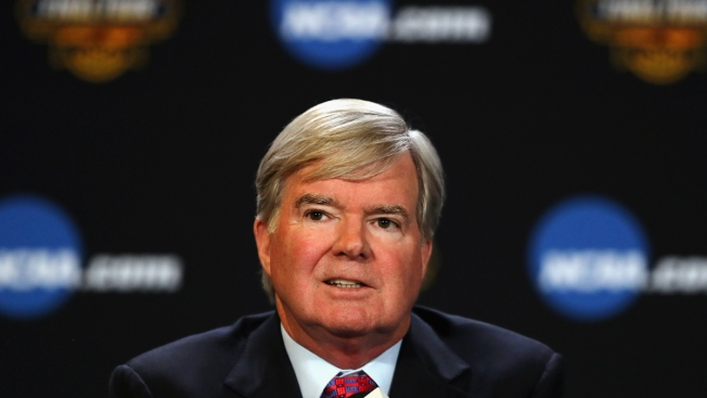 NCAA's Emmert Defends Efforts on Protecting College Athletes