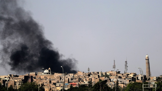ISIS Destroys Historic al-Nuri Mosque and Its Leaning Minaret in Mosul