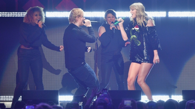 James Corden is glorious as Taylor Swift's new backup dancer