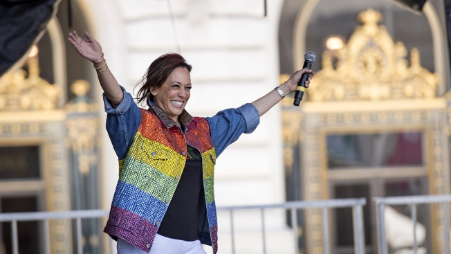 Kamala Harris Reports Raising $12M in 2nd Quarter