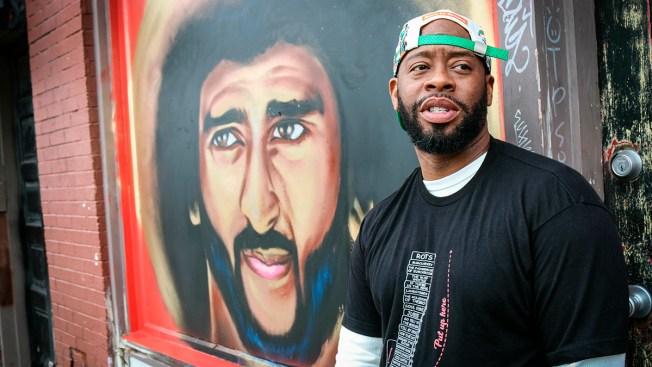 Kaepernick Murals Spring Up in Atlanta After Art Demolished