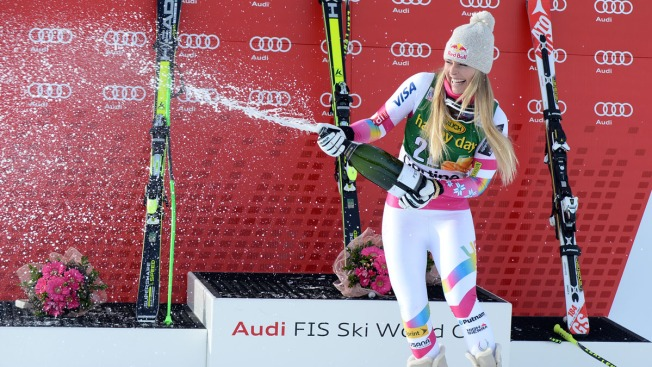 Lindsey Vonn: I won't represent U.S.  president at Winter Olympics