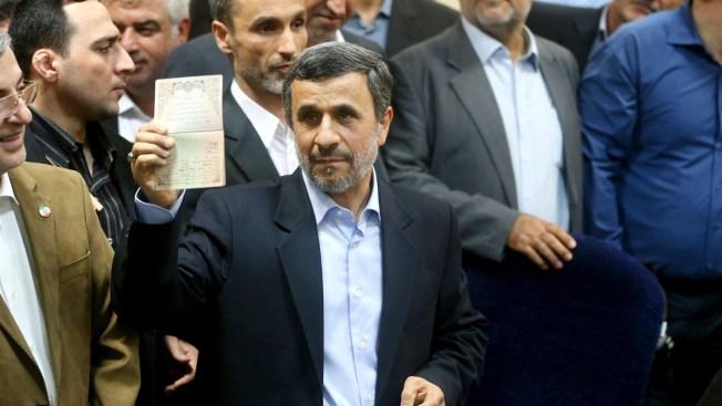 Ahmadinejad Registers To Run For Iranian President