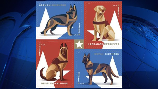 Military Dogs Honored With Forever Stamps By U.S. Postal Services