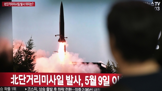 NKorea Fires 2 Missiles Into Sea in Likely Protest of Drills