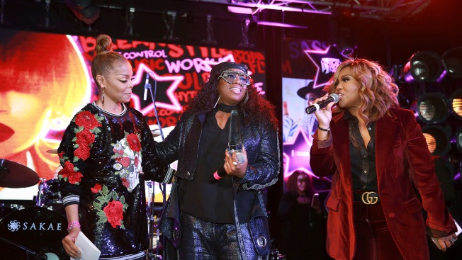 Janet Jackson Surprises Missy Elliott at Essence Black Women Music Event
