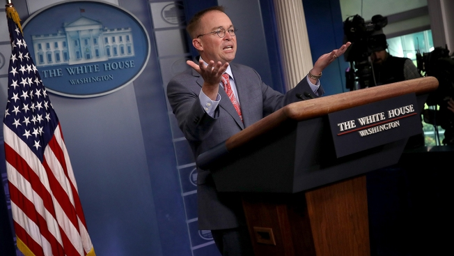 Mulvaney's Missteps Draw Scrutiny From Trump Allies