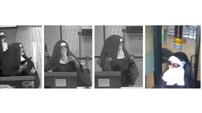 2 Suspected in Pa. Bank Heist While Dressed as Nuns