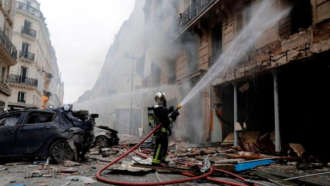 2 Firefighters Dead in Paris Gas Leak Explosion as Police Prepare for Protests