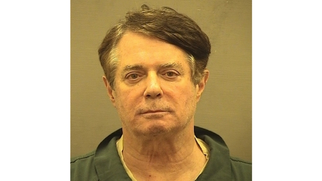 Prosecutors: Manafort Says He's Treated Like 'VIP' in Jail