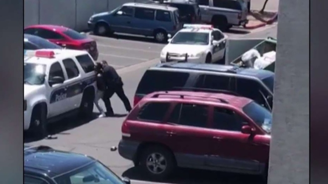 After a 4-Year-Old Took Doll From Store, Video Shows Phoenix Police Pulling Gun on Parents