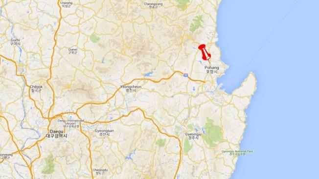 Earthquake Shakes South Korea 105 Miles South of Pyeongchang