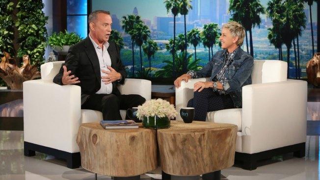 When 'Dory' Met 'Woody': Hanks and Ellen Have Pixar Showoff