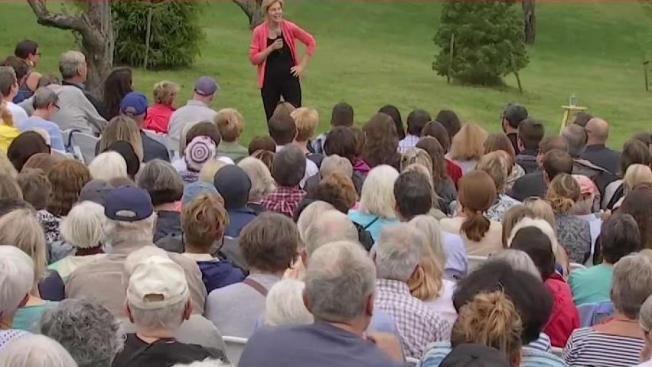 'I Know How to Win': Elizabeth Warren Campaigns in New Hampshire on Labor Day