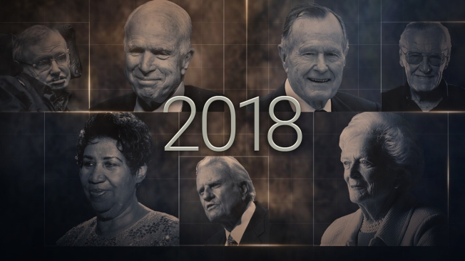 [NATL]Influential People We've Lost in 2018