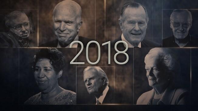 [NATL]Influential People We've Lost in 2018