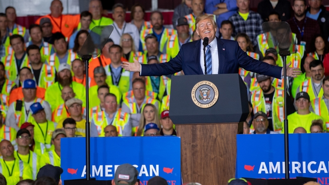 Shell Workers Would Have Lost Pay If They Missed Trump Speech at Plant