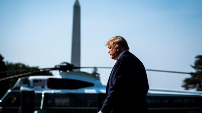 Trump Heads for Golf Club Holiday as Crises Loom