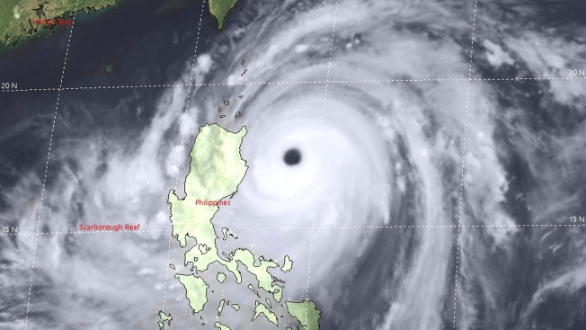 Ferocious Typhoon Slams Into Northeastern Philippines