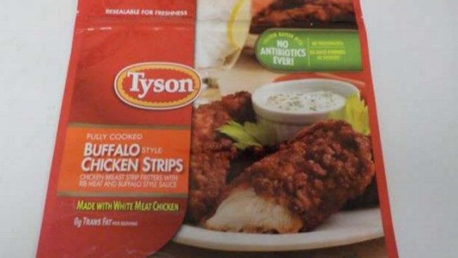 Tyson Recalls Chicken Strips That May Be Contaminated