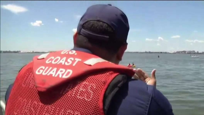 Coast Guard Responds to Report of Boat Taking on Water