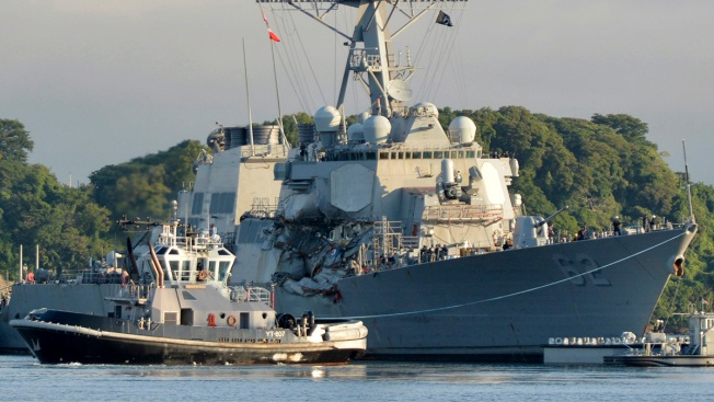Navy Filing Homicide Charges Against 2 Ship Commanders