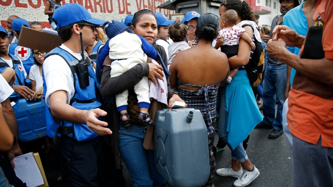 First Red Cross Aid Distributed in Crisis-Torn Venezuela